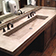ADA wall hung concrete sink